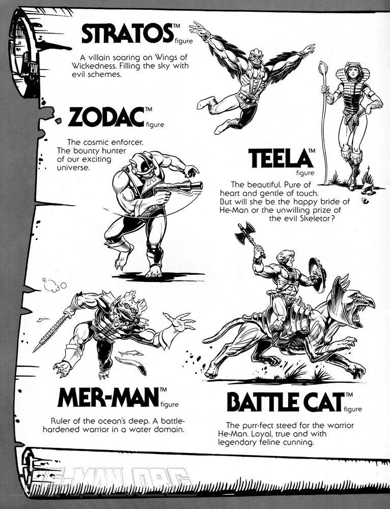 Mattel Licensing Kit 1981 MOTU