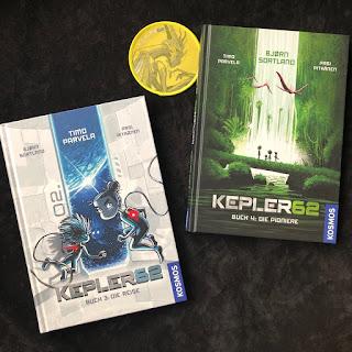 Kepler62 - Band 3 und Band 4