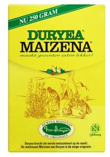 Maizena voor slijm