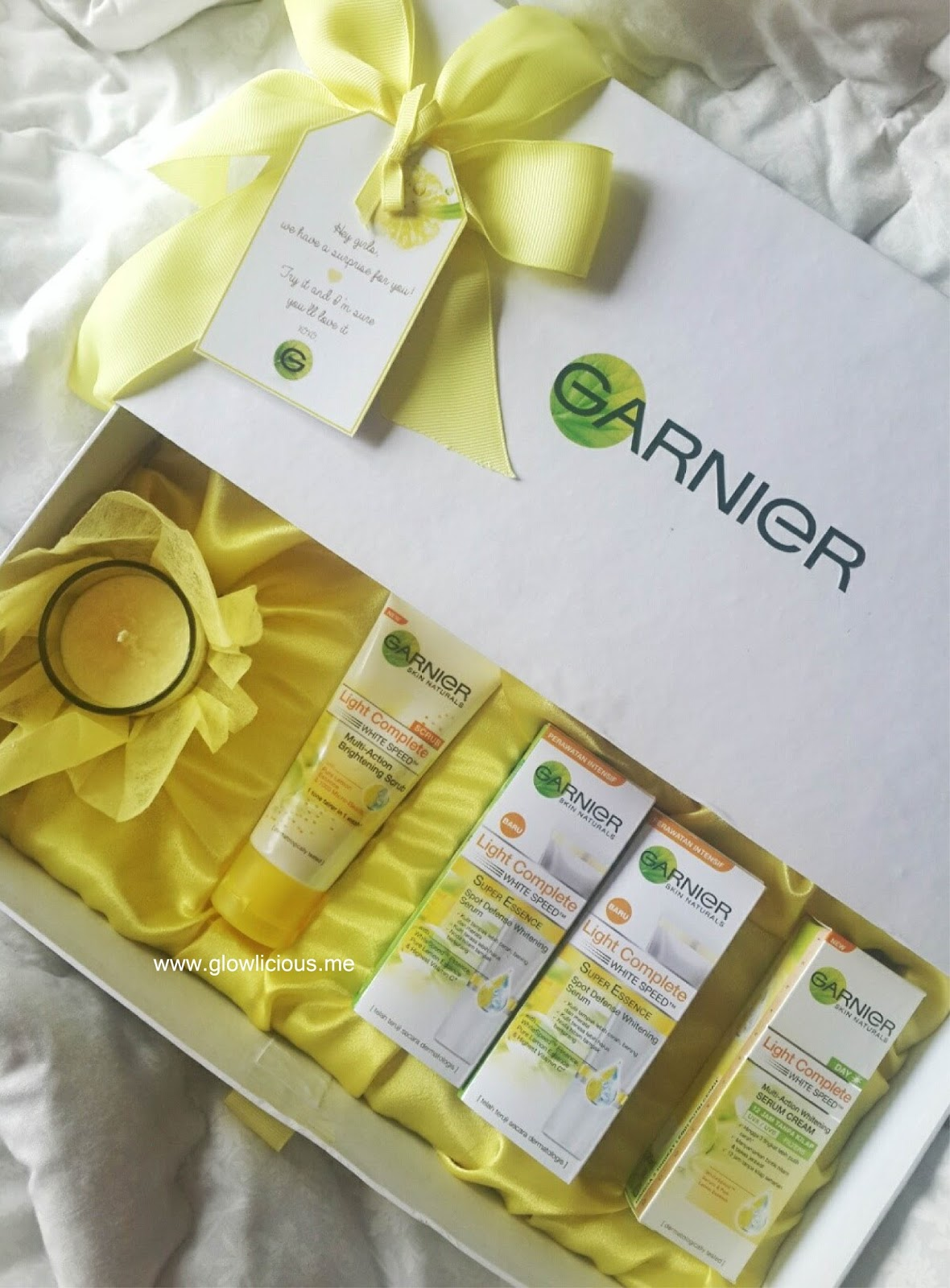 Review Garnier Indonesia - Review Garnier Light Complete White Speed Collection