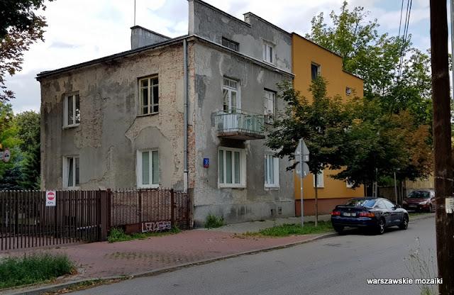 balkon Warszawa Warsaw Praga Południe ulica zabudowa architektura architecture przedwojenne Gocławek