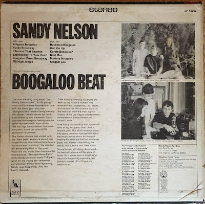 Sandy Nelson  - Boogaloo Beat (1968)
