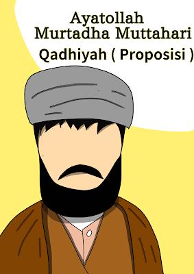 Qadhiyah ( proposisi ) dalam ilmu mantiq