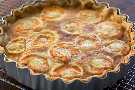 Apricot Almond Pie Recipe
