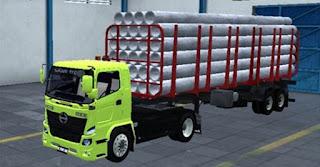 Mod Hino Truck 500 Muat pipa Beton