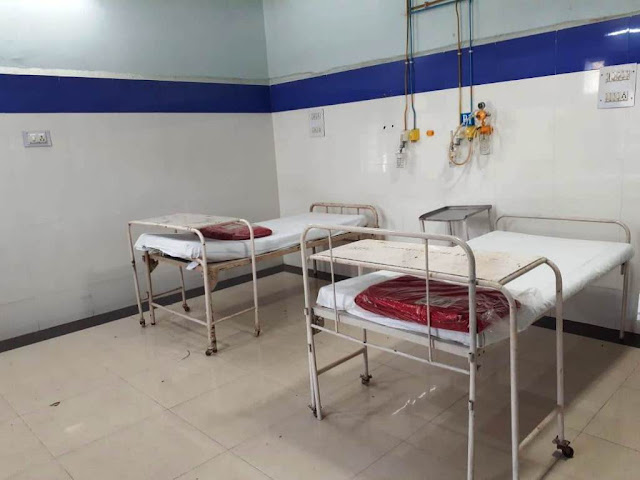 Corona Virus Isolation Ward in Bhilai