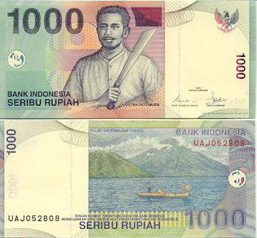 Rupiah 1000 10