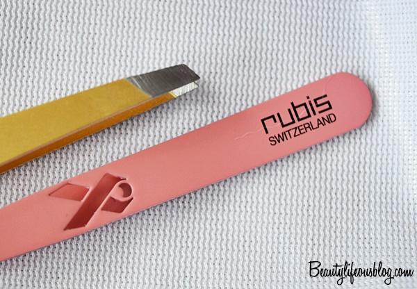Rubis Pinzette Pink Ribbon