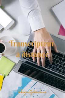 Travail de transcripteur en ligne