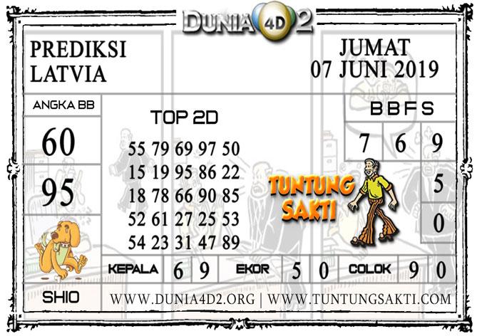 """Prediksi Togel """"LATVIA"""" DUNIA4D2 07 JUNI 2019"""