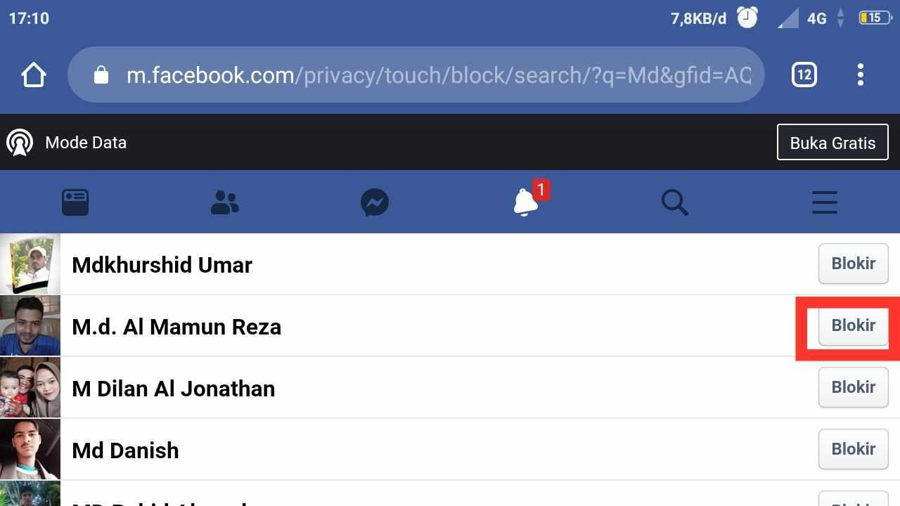 cara menghapus teman di facebook dalam jumlah banyak