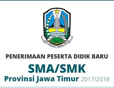 Pengumuman Pendaftaran PPDB 2017 SMA SMK Jawa Timur