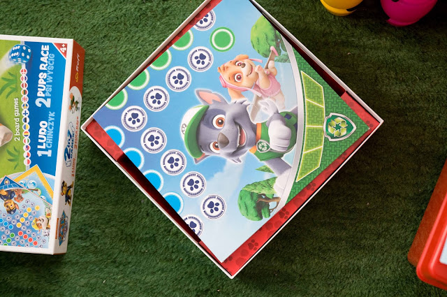 gra planszowa Psi Patrol dla 5 latka