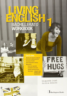Libro Inglés 1º Bachillerato Living English 1 Workbook Burlington Books