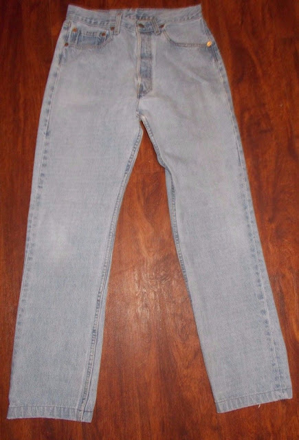 Women's Vintage Levi's 544 Denim Blue Jeans