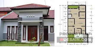 Rumah Minimalis 4 Kamar Tidur Satu Lantai Desain Rumah Minimalis