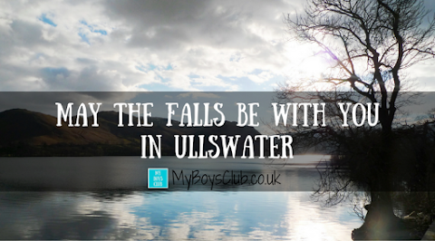 May the falls be with you in Ullswater