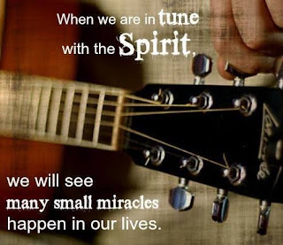Our Daily Bread: 15 May 2020 - In Tune With The Spirit