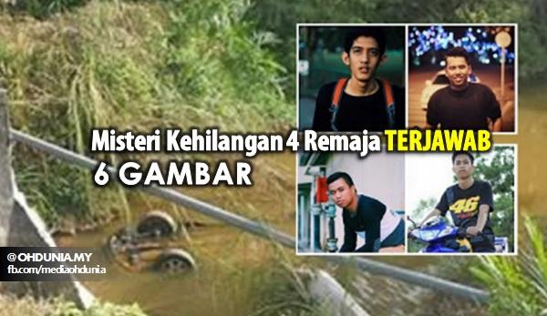 Misteri Kehilangan 4 Remaja Akhirnya Terjawab