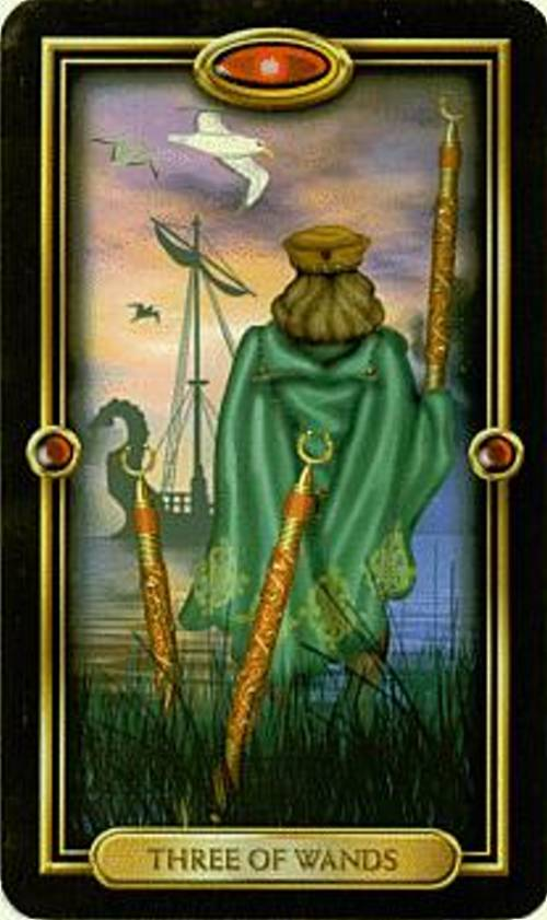 3 Of Swords Rx Reversed As Advice: Tarot Notes: Cards And Quotes: 3 Of Wands