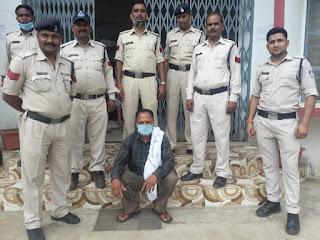 4 साल से दो मामले में फरार चल रहे एक स्थाई वारंटी को शहपुरा पुलिस ने किया गिरफ्तार