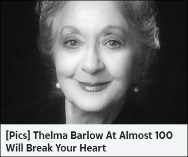 Thelma Barlow Ad