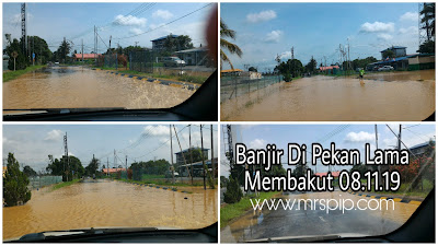 Banjir di Membakut || 08.11.2019