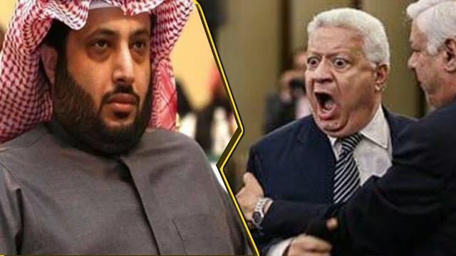 مرتضى منصور ينقلب على تركى الشيخ : منك لله