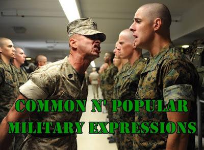 Istilah militer Bahasa Inggris sehari-hari