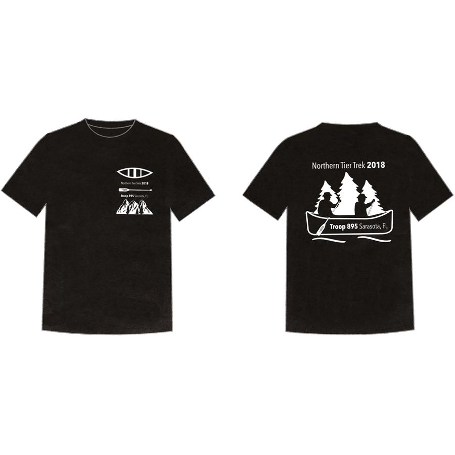 gcvisualart portfolio boy scout t-shirt design
