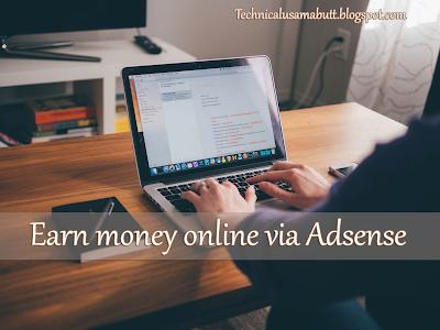 earn money online by google adsense in pakistan