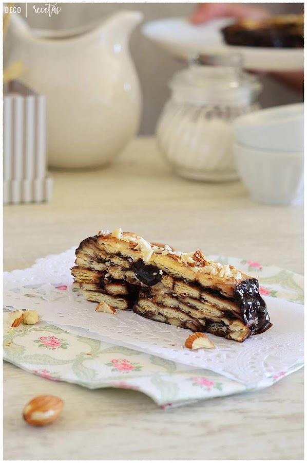 Tarta de la abuela receta- Tarta de la abuela receta casera fácil- receta- tarta- Tarta de la abuela- postre sin horno- tarta sin huevo