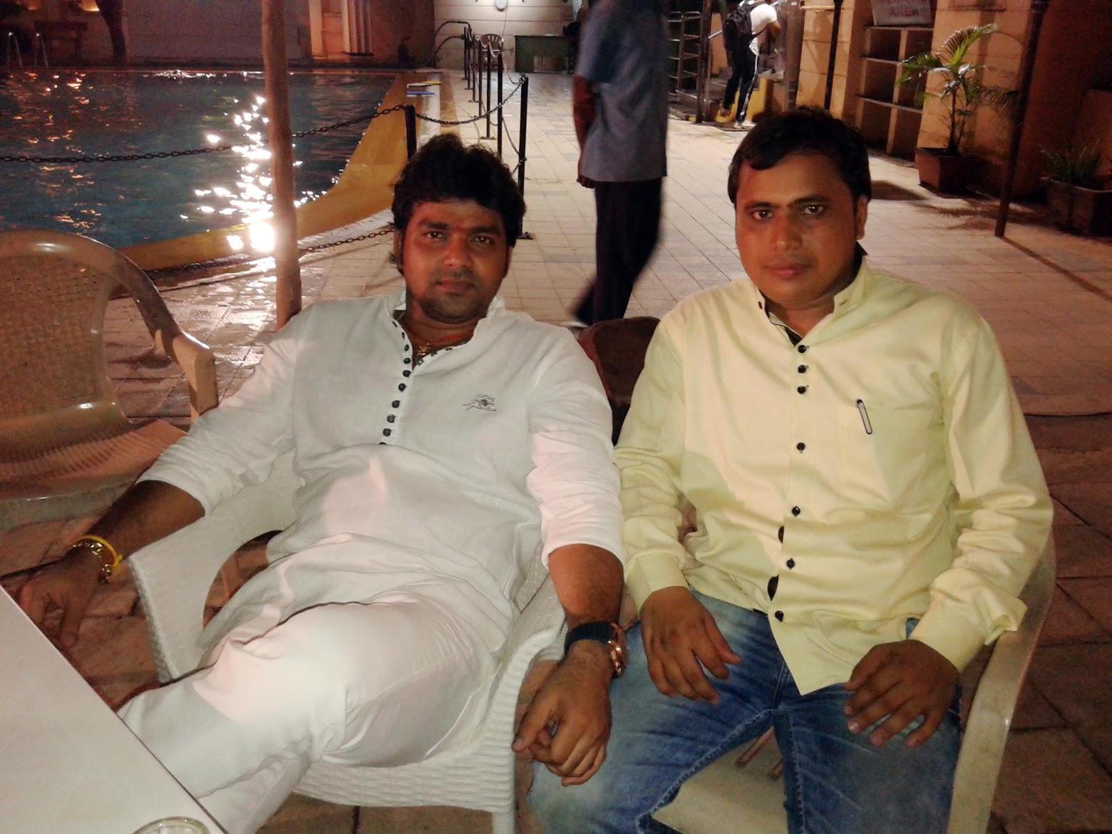 Pawan Singh, Tanushree Chatterjee Shooting stills of Bhojpuri Movie Ziddi
