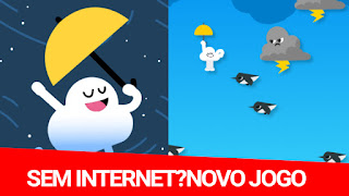Sem internet?Jogo escondido no app do Google