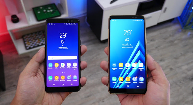 Samsung Announces the 2018 Galaxy A8s With Infinity Display, Dual Front Camera