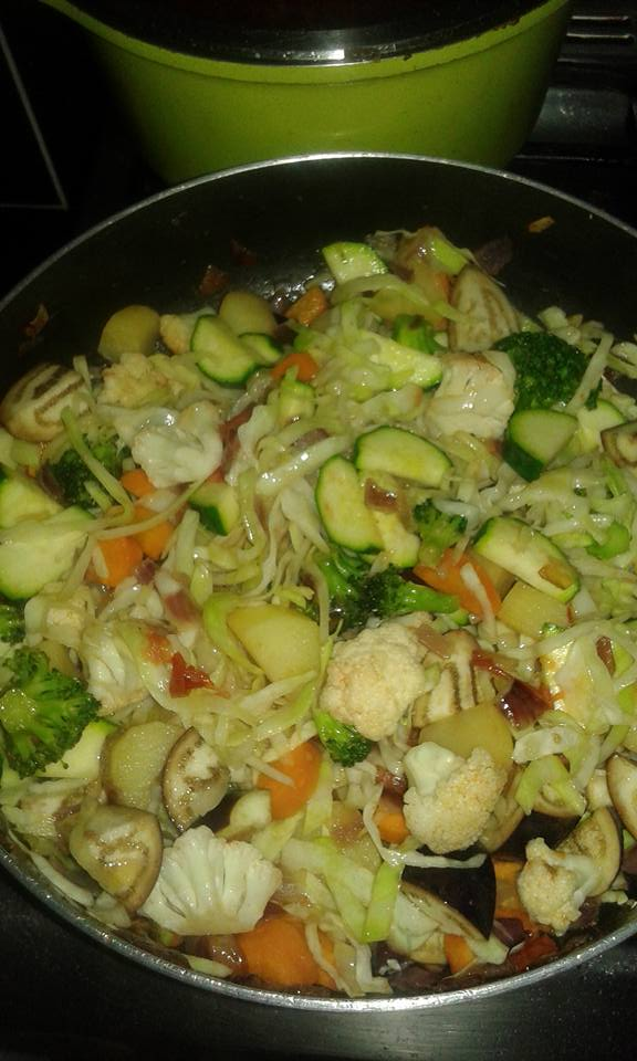 Mixed Vegetables Recipe