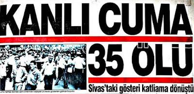 2 Temmuz 1993 Sivas Madımak Katliamı