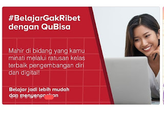 cara belajar gak ribet dengan QuBisa