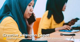 Kreatif dan respon cepat