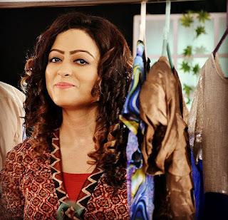 Rupsha Chakraborty Smile