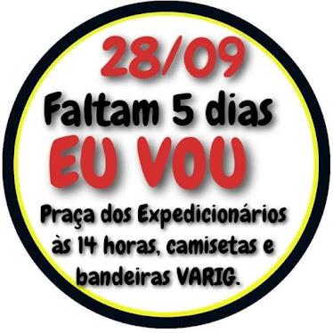 28 de setembro, 14h: Rio de Janeiro