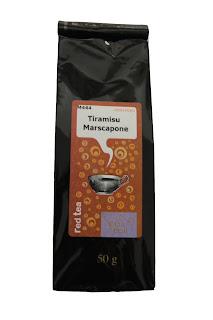 Ceaiul rosu cu gust de Tiramisu mascarpone
