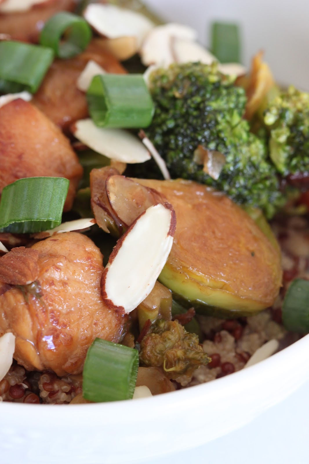 Ginger Chicken Stir Fry With Broccoli