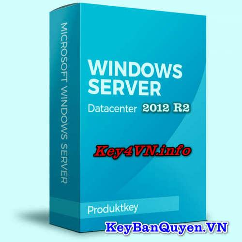 Mua bán key bản quyền Windows Server 2012 R2 Datacenter.