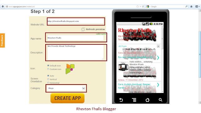 Toturial Menciptakan Aplikasi Android Dengan Appsgeyser 4