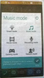 Multimedia Asus Zenfone C Specs