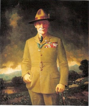 Robert Stephenson Smyth Baden-Powell Bapak Pramuka Sedunia