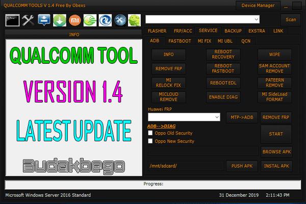 Qualcomm Tool 1.4 Latest Update 2020 Gratis