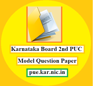 Karnataka Board 2nd PUC Mode Question Paper 2021 With Answer
