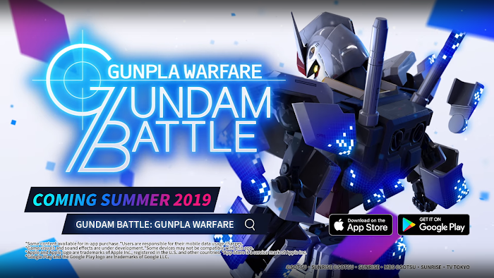 Gundam Battle: Gunpla Warfare - Pre-Registration